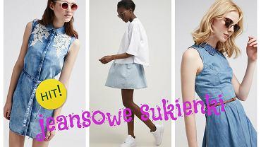 Jeansowe sukienki- przegląd najciekawszych propozycji