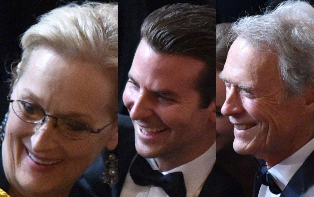 Meryl Streep, Bradley Cooper, Clint Eastwood