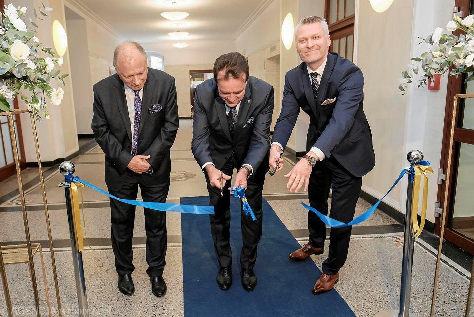 Otwarcie wyremontowanych oddziałów szpitala ginekologiczno-położniczego przy ul. Polnej w Poznaniu