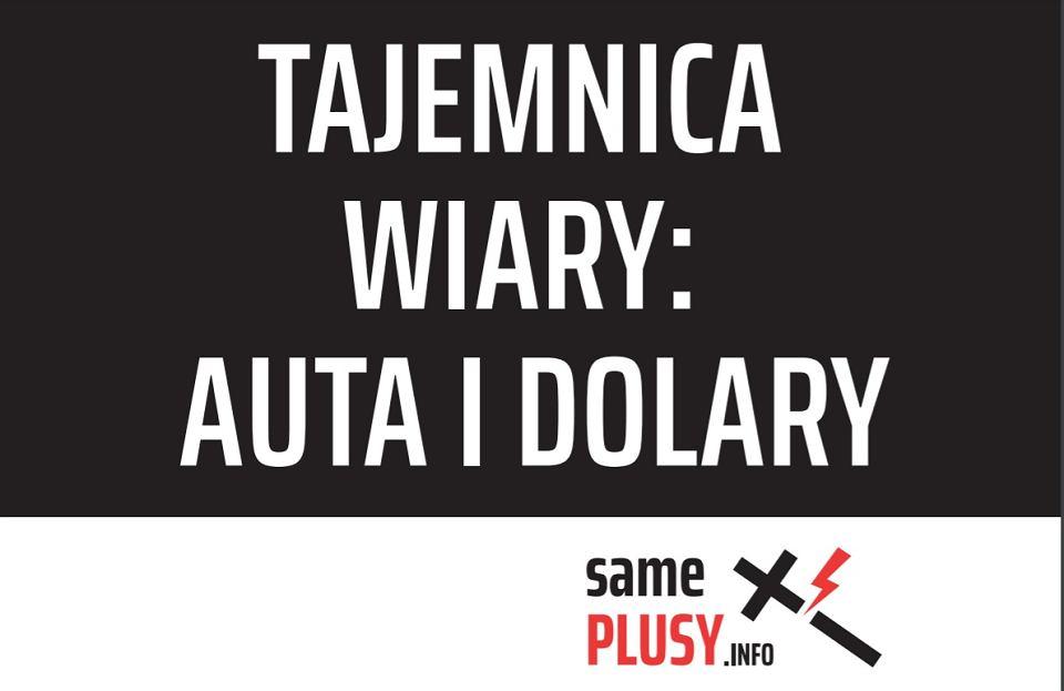 Plakat kampanii 'Same Plusy.Info'