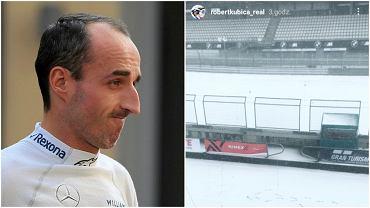 Robert Kubica nie wystartował w wyścigu Nurburgring Langstrecken Series. Został odwołany ze względu na fatalne warunki na torze