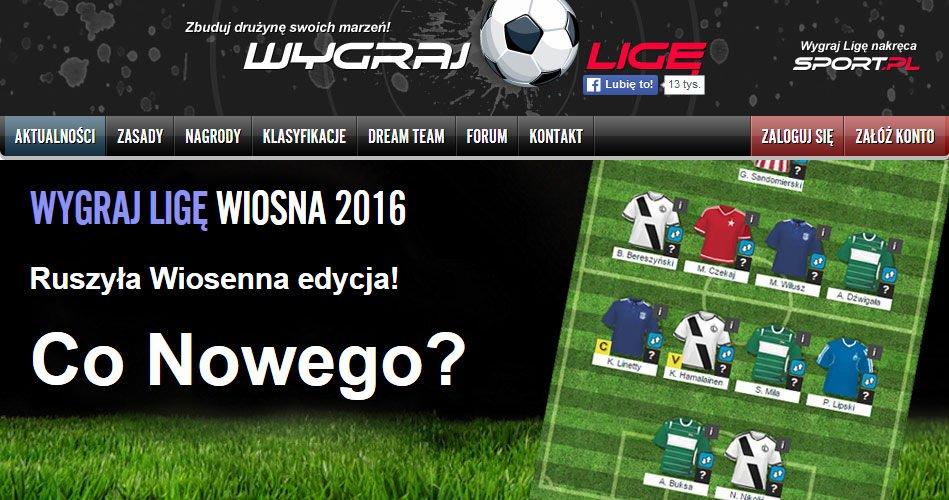 Co Nowego w Wygraj Ligę Wiosna 2016?