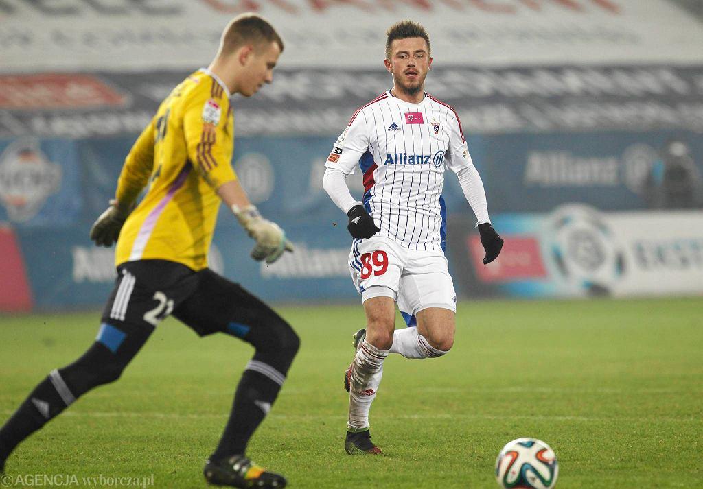 Jakub Wrąbel - młody bramkarz Śląska Wrocław