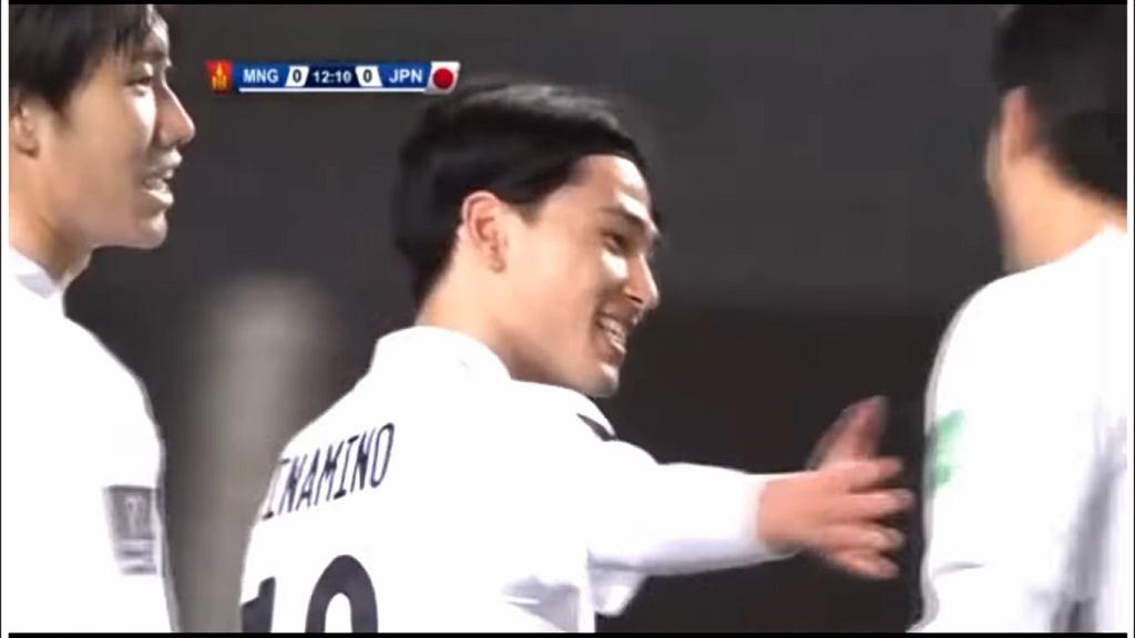 Mongolia - Japonia, Takumi Minamino