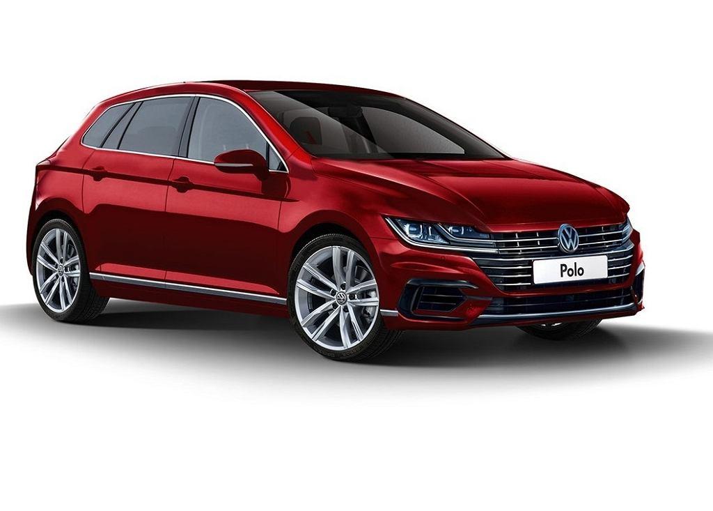 Wizualizacja nowego Volkswagena Polo