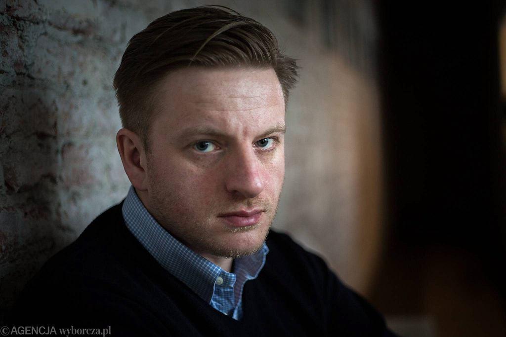 Pisarz Szczepan Twardoch.