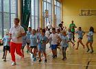 Lekcja WF-u w Krynicy-Zdroju pod okiem mistrzyni olimpijskiej i rekordzistki świata