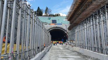 S7 tunel pod Zakopianką