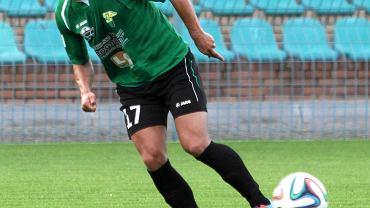 Na zdjęciu piłkarz Górnika Radosław Pruchnik