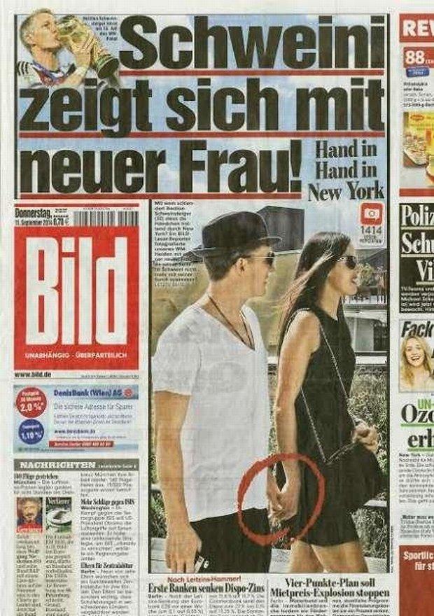 Schweinsteiger i piękna brunetka. Czy to Ana Ivanović? I czy są razem?