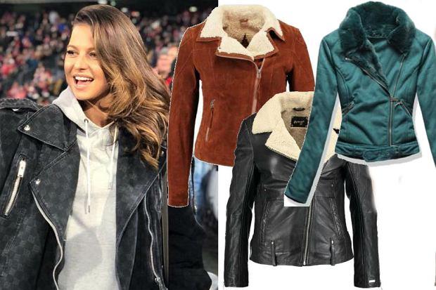 fot. modne kurtki w stylu Lewandowskiej