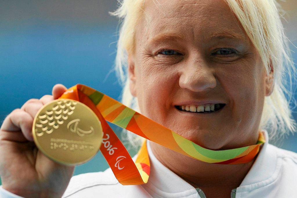 Złota medalistka igrzysk paraolimpijskich w Rio w pchnięciu kulą Ewa Durska