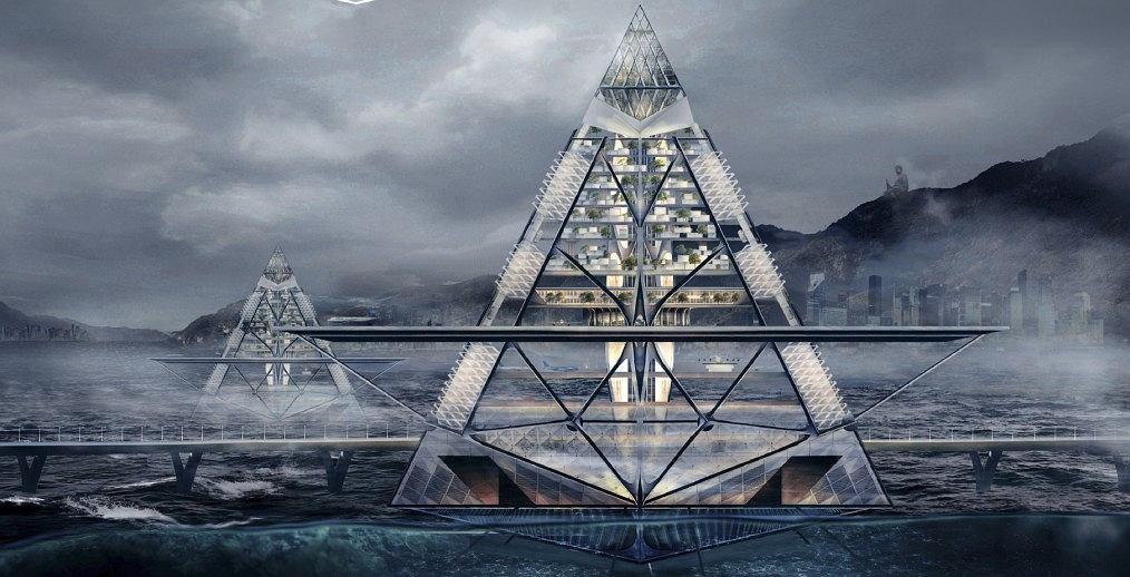 Trzecie miejsce w konkursie: Floating Aero City