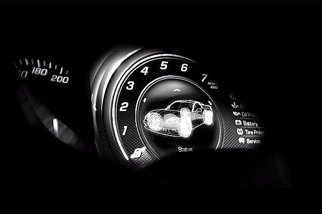 Tak wyglądają zegary w nowym Chevrolecie Corvette