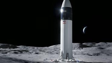 SpaceX Elona Muska przygotuje lądownik do podróży na Srebrny Glob
