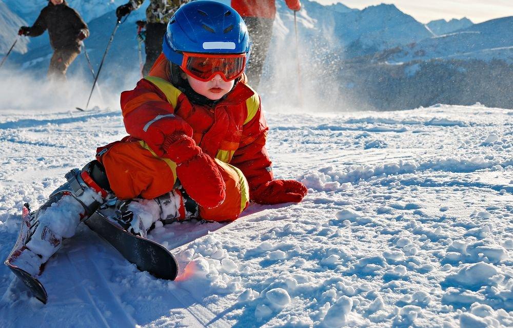 Na nartach dziecko powienien uczyć jeździć instruktor