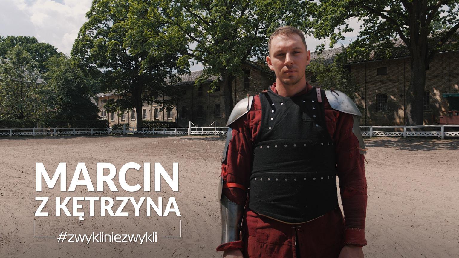 Marcin Waszkielis - kilkukrotny mistrz świata w sportowych walkach rycerskich