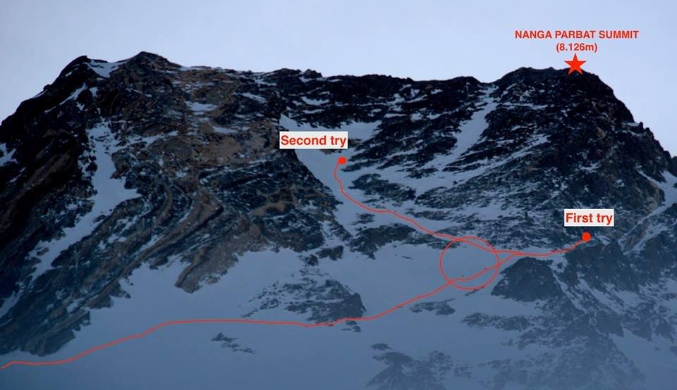 Atak szczytowy na Nanga Parbat