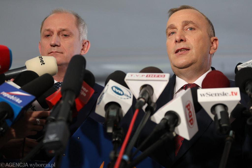 Konferencja PO w Sejmie