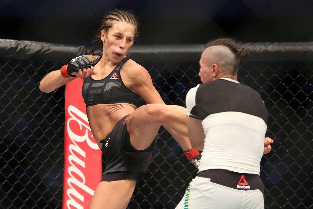 Walka Joanny Jędrzejczyk z Jessicą Andrade.
