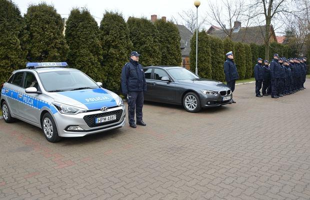 Nieoznakowane radiowozy BMW polskiej policji