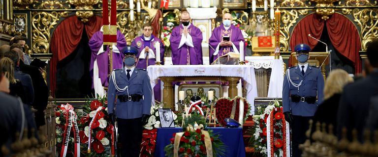 Racibórz. Pogrzeb policjanta Michała Kędzierskiego, który zginął podczas służby
