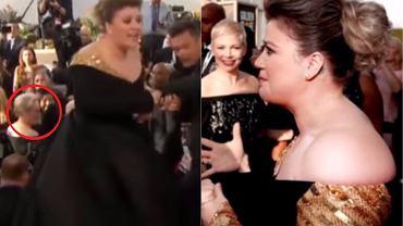 Kelly Clarkson na 75. gali rozdania Złotych Globów