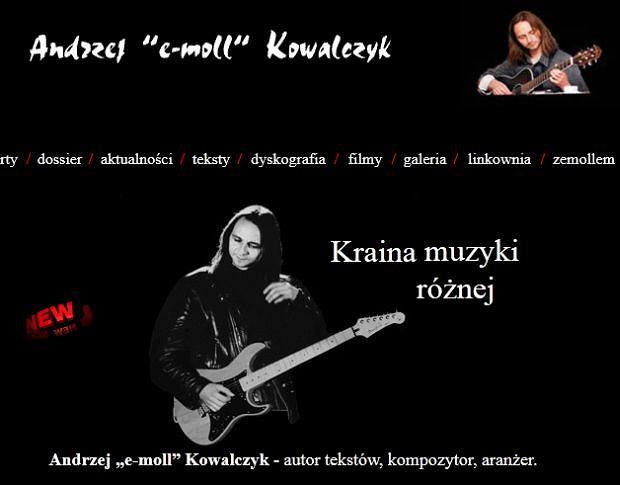 Andrzej 'e-moll' Kowalczyk.