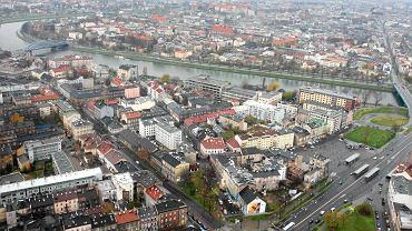 Widok na Podgórze i Kazimierz