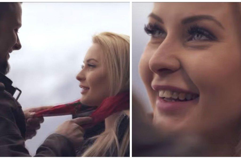 Mała Ania w teledysku zespołu Dymex