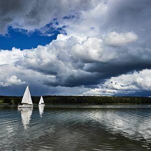 Jezioro Rynskie w okolicach Rynu, 24 czerwca 2018