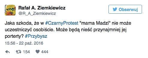 Wpis Ziemkiewicza