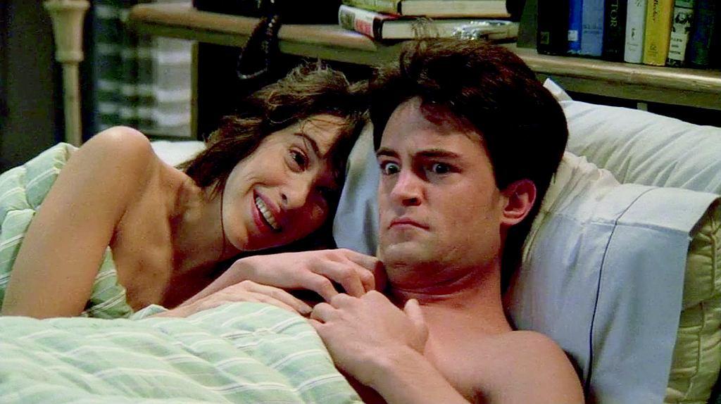 W serialu 'Przyjaciele' Chandler wciąż próbował zerwać z Janice. Nawet zmyślił wyjazd do Jemenu.
