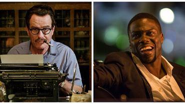 """Bryan Cranston w filmie """"Trumbo"""" i Kevin Hart w filmie """"Polowanie na drużbów"""""""