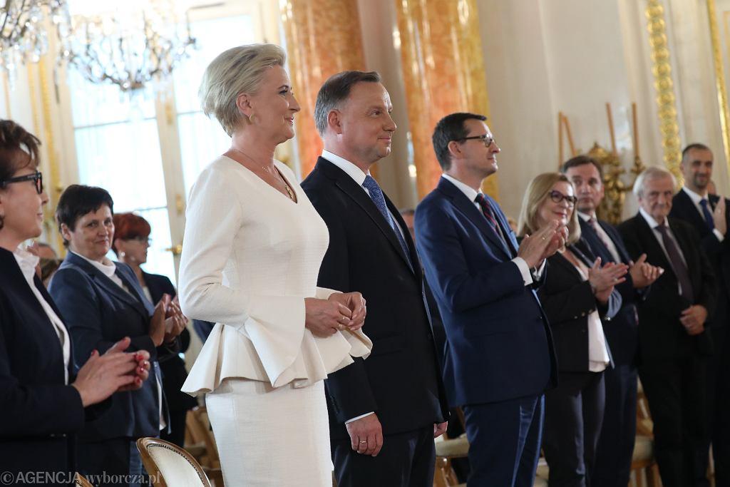 Prezydent Andrzej Duda odebrał uchwałę Państwowej Komisji Wyborczej z wynikami wyborów