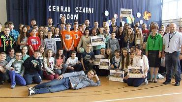 Cerrad Czarni Radom z wizytą w szkole w Natolinie