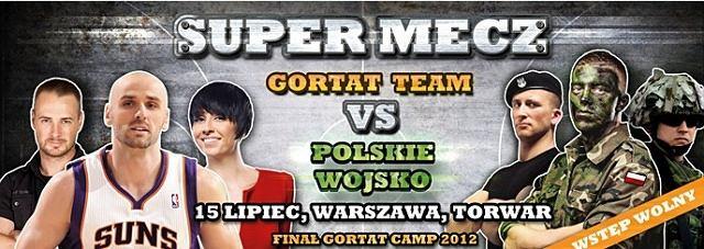 Finał akcji Marcin Gortat Camp 2012 na Torwarze