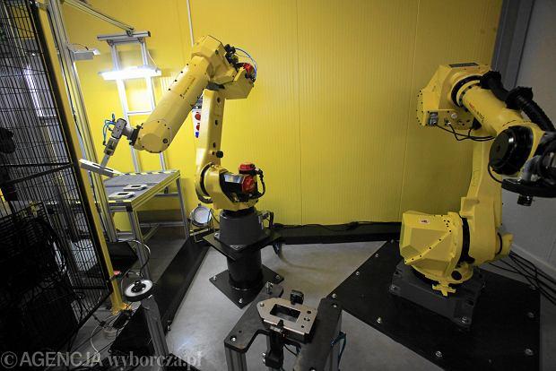 Roboty firmy Fanuc podczas pokazu