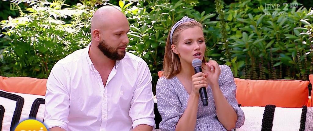 Agnieszka Kaczorowska z mężem w 'Pytaniu na śniadanie' mówią o hejcie