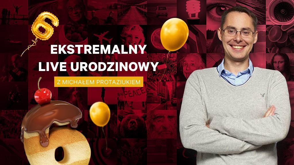Ekstremalny live z Michałem Protaziukiem