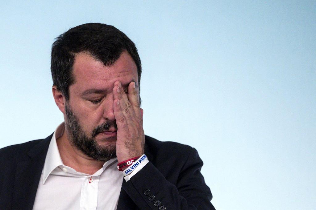 Wicepremier Włoch Matteo Salvini