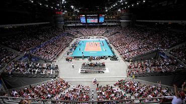 Czerwiec 2013, Ergo Arena. Mecz siatkówki Liga Światowa, Polska - Argentyna