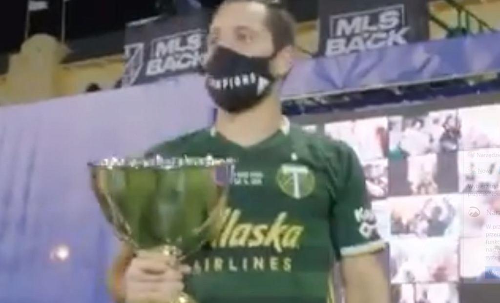 Piłkarze Portland Timbers celebrowali triumf w #MLSIsBack z wirtualnymi fanami