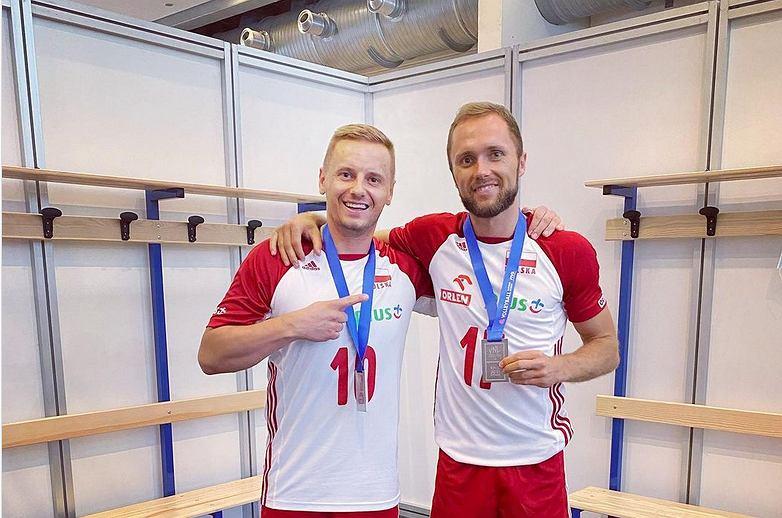 Paweł Zatorski i Damian Wojtaszek