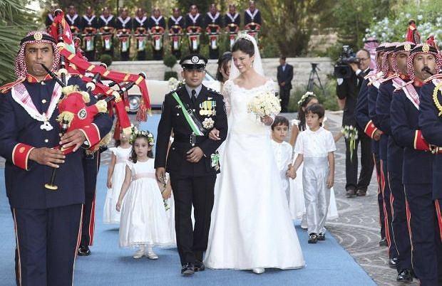 Rashid bin El Hassan i księżna Zeina.