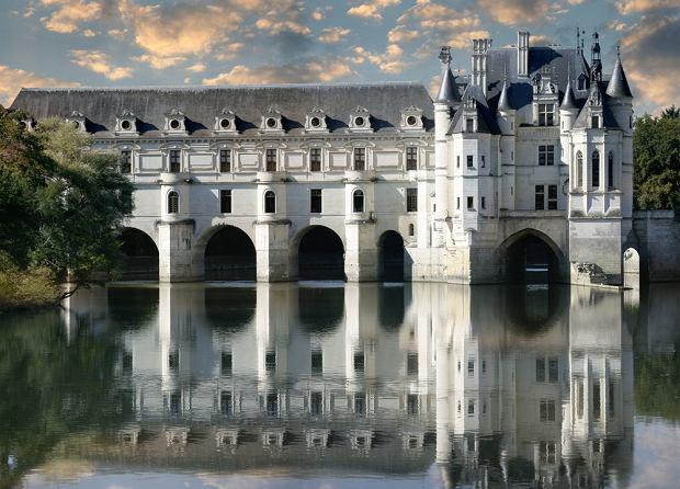 francja, loara, zamek Chenonceau