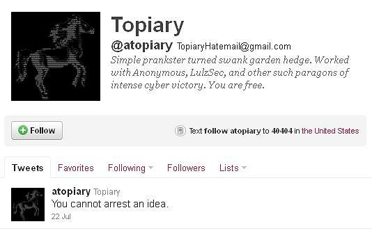 Twitter @atopiary