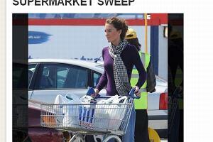 Księżna Kate.