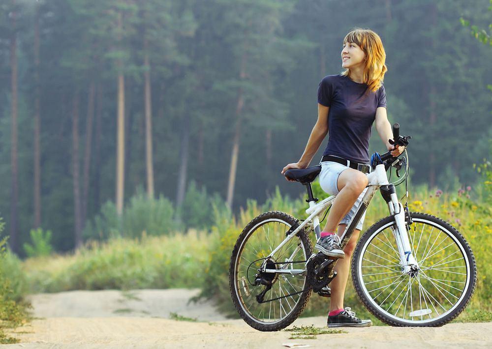 Leśna trasa rowerowa, Polska