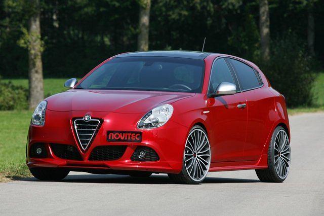 Alfa Romeo Giulietta po tuningu Noviteca